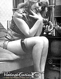 Sexy Vintage Ladies Showing Their Beautiful Boobies
