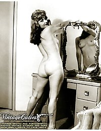 Highly Erotic Black And White Antique Photos From VintageCuties.com