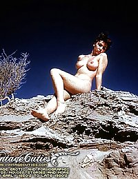 First Colored Naked Pinup Photographs