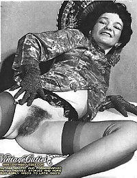 Naked Hairy Ladies From Sixties And Seventies Expose Their Vintage Cunts