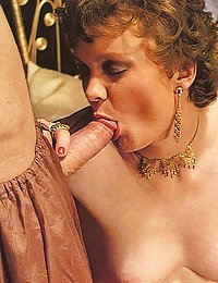 Two hairy seventies ladies getting stuffed by two studs