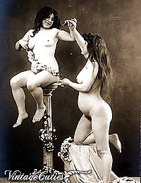 Charmingly Old Historical French Erotica Postcards Of 90 Years Old